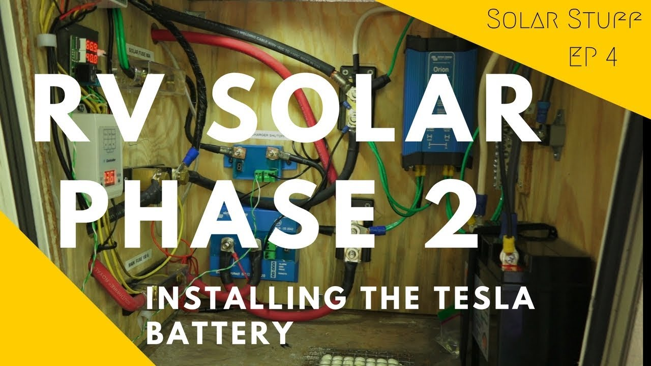 Solar Phase 2 - The Tesla Battery - Mortons On The Move