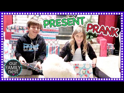 PRANKING THE KIDS WITH AN EARLY CHRISTMAS PRESENT!