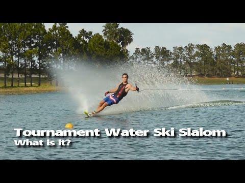 Tournament Water Ski Slalom - Explainer Video