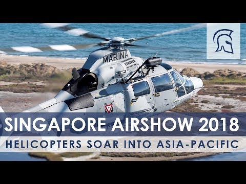 Helicopters Soar Into Asia-Pacific