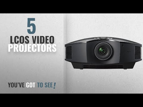 Top 10 LCoS Video Projectors [2018]: Sony VPLHW45ES 1080p 3D SXRD Home Theater/Gaming Projector