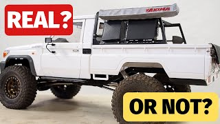Killerbody LC70 Toyota Land Cruiser RC Crawler with roof top tent