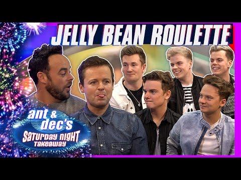 Jelly Bean Roulette | Ant & Dec vs Jack & Conor Maynard, Oli White and NikiNSammy