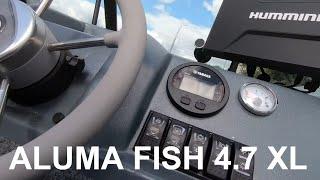 ALUMA FISH 4 7 XL SERIES .Осмотр достопримечательностей!)  #aluma