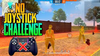 FREE FIRE || NO JOYSTICK CHALLENGE || CLASH SQUAD 1VS4 || GONE EXTREMELY WRONG 😨|| TSG DAKSH&ABHEE