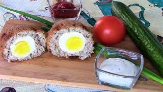 Обалденно вкусные шотландские яйца, все будут просто в восторге!