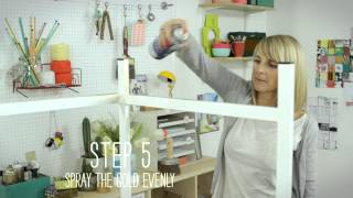 Craft Corner: How To Make A Glamourous Desk