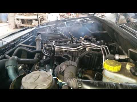 Volkswagen Amarok rail pressure regulator failure