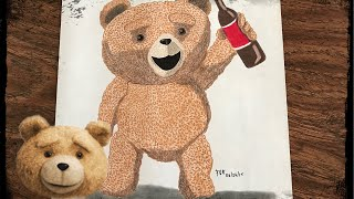 Stop Motion Drawing Ted (Ted 2) #171