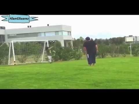 Le tacle assassin de Diego Maradona sur son petit-fils de 6 ans