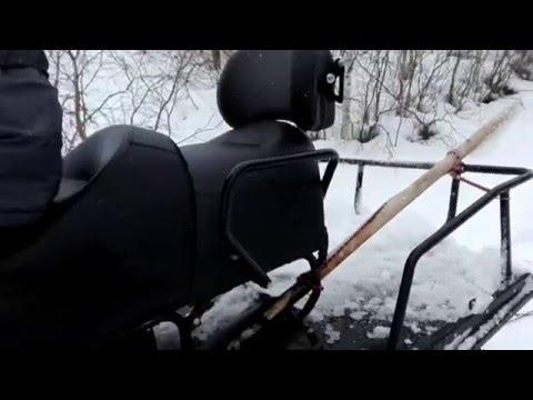 Снегоход Ермак 800 апрель 2016