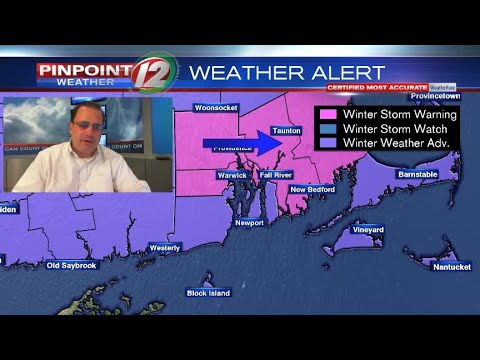 Weather Now:  Winter Storm Warnings for Parts of Our Area