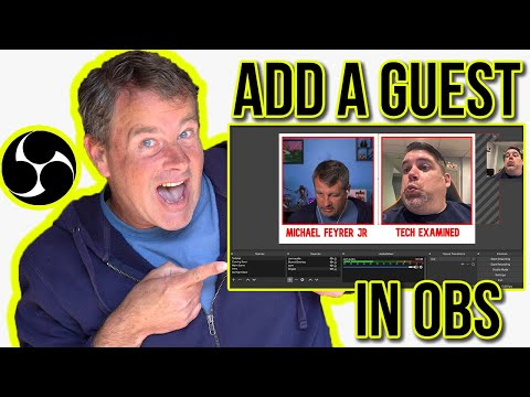 Obs Live Stream Tutorial - Add a guest to your Live Stream!