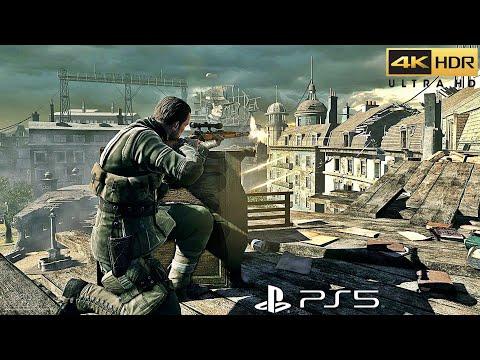 Sniper Elite 4 - PS5™ Gameplay [4K HDR]