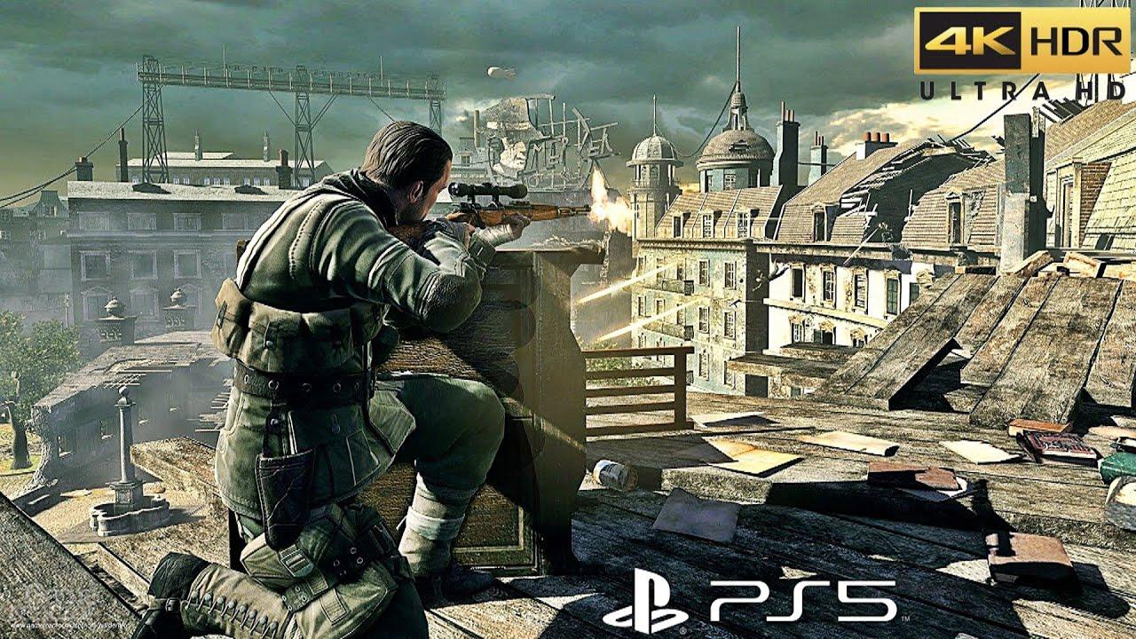 Sniper Elite 4 – PS5™ Gameplay [4K HDR]
