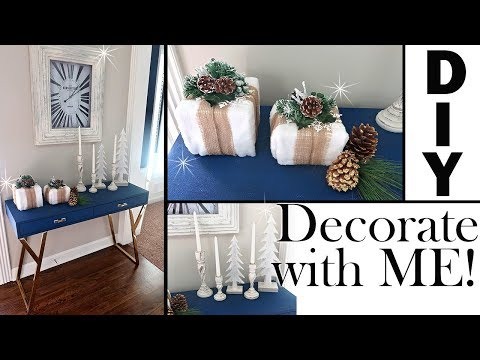 DECORATE WITH ME CHRISTMAS 2018 DIY