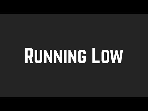 Shawn Mendes - Running Low (Lyrics)
