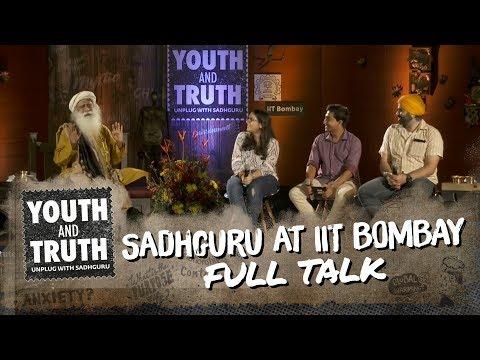 Sadhguru at IIT
