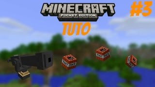 Minecraft PE Tuto - Canon à TNT [version 0.8.1]