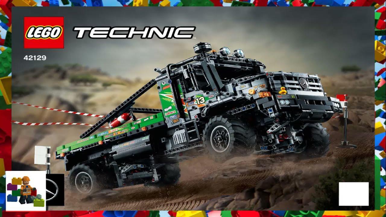 LEGO instructions - Technic - 42129 - 4x4 Mercedes-Benz Zetros Trial Truck