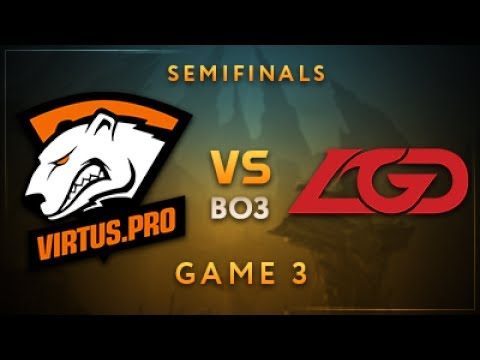 Virtus.pro vs LGD Gaming Game 3 - Dota Summit 7: Semifinals