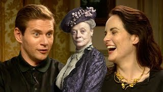 Allen Leech from 'Downton Abbey' impersonates Maggie Smith