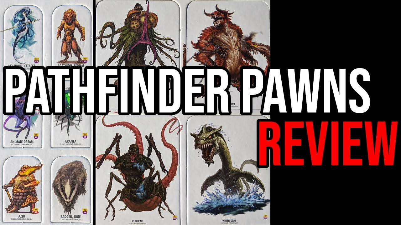 Pathfinder Pawns - Bestiary Box 2 - REVIEW