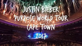 Justin Bieber Purpose World Tour Cape Town South Africa 2017