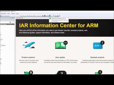 IAR Embedded Workbench overview