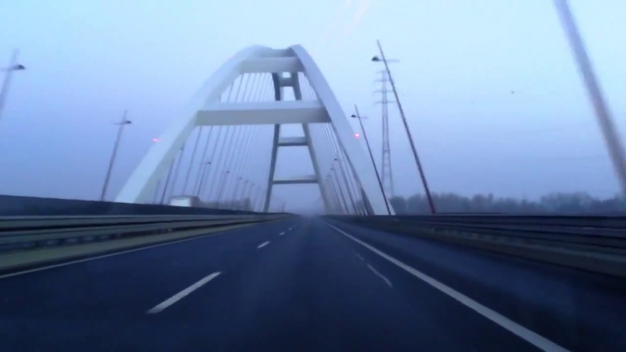 Driving in Hungary: M6 south - M8 east - 51 south