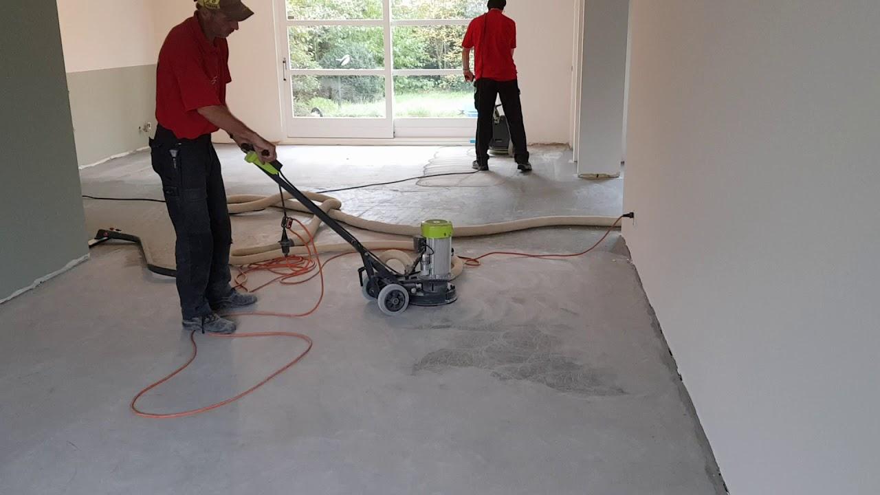 Populair Oude tapijt lijm verwijderen - Bel Wolter 0652649524 - YouTube GA19
