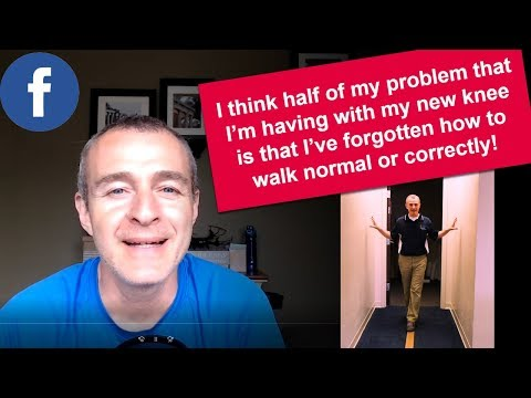 3 Tips To Walk ��♂️ Normally �� After A Total Knee Replacement