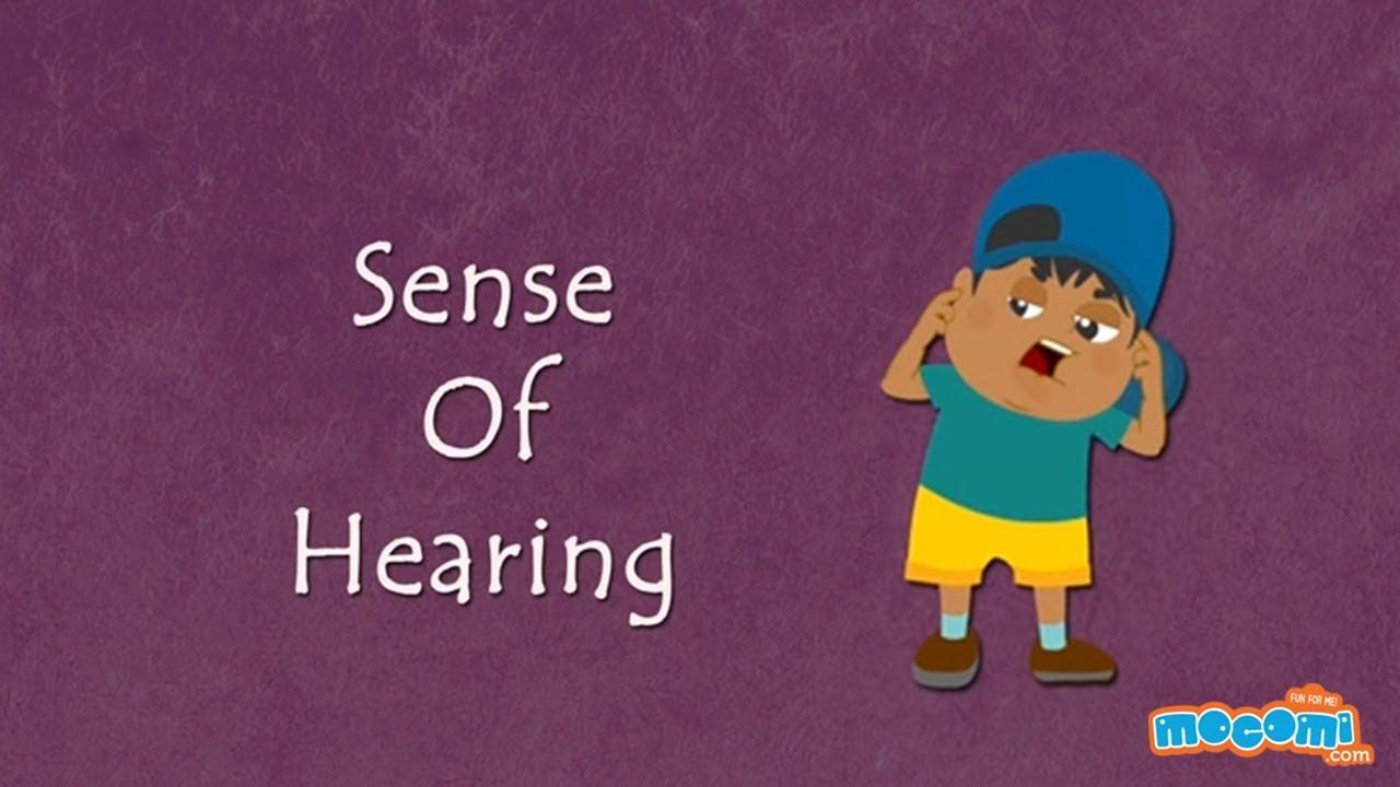 Resultado de imagen de sense of HEARING kids