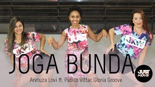 Video Joga Bunda l Aretuza Lovi  ft. Pabllo Vittar, Gloria Groove l Coreografia JUST Move download MP3, 3GP, MP4, WEBM, AVI, FLV September 2018
