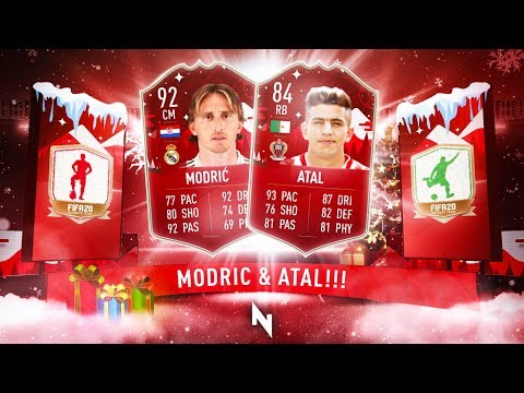 THIS IS BETTER EA! INSANE ATAL & FUTMAS MODRIC SBC CARDS - FIFA 20 Ultimate Team