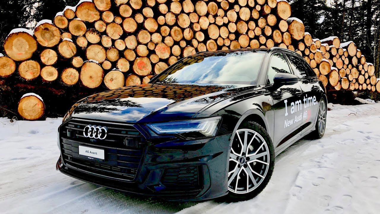 New Audi A6 Avant 2019 - 45 TDI Quattro - Test & Review - YouTube