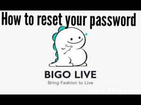 How to reset your password in bigo live app. thumbnail