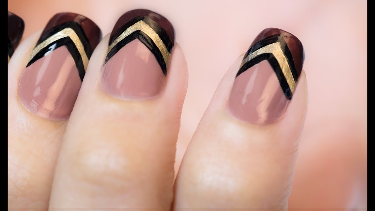 Nail Art for Beginners ARROW DESIGN Nail