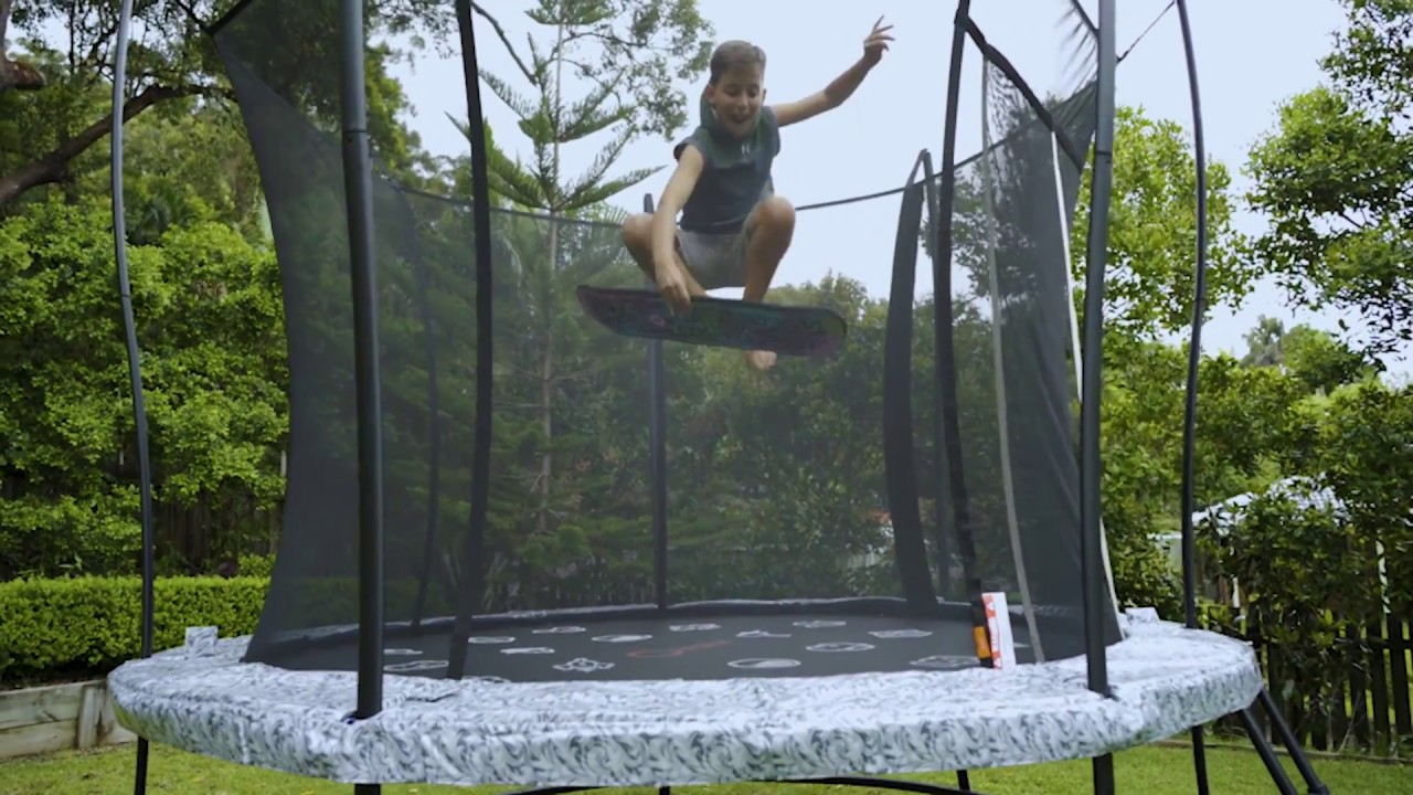 Trampoline video jj girls 4