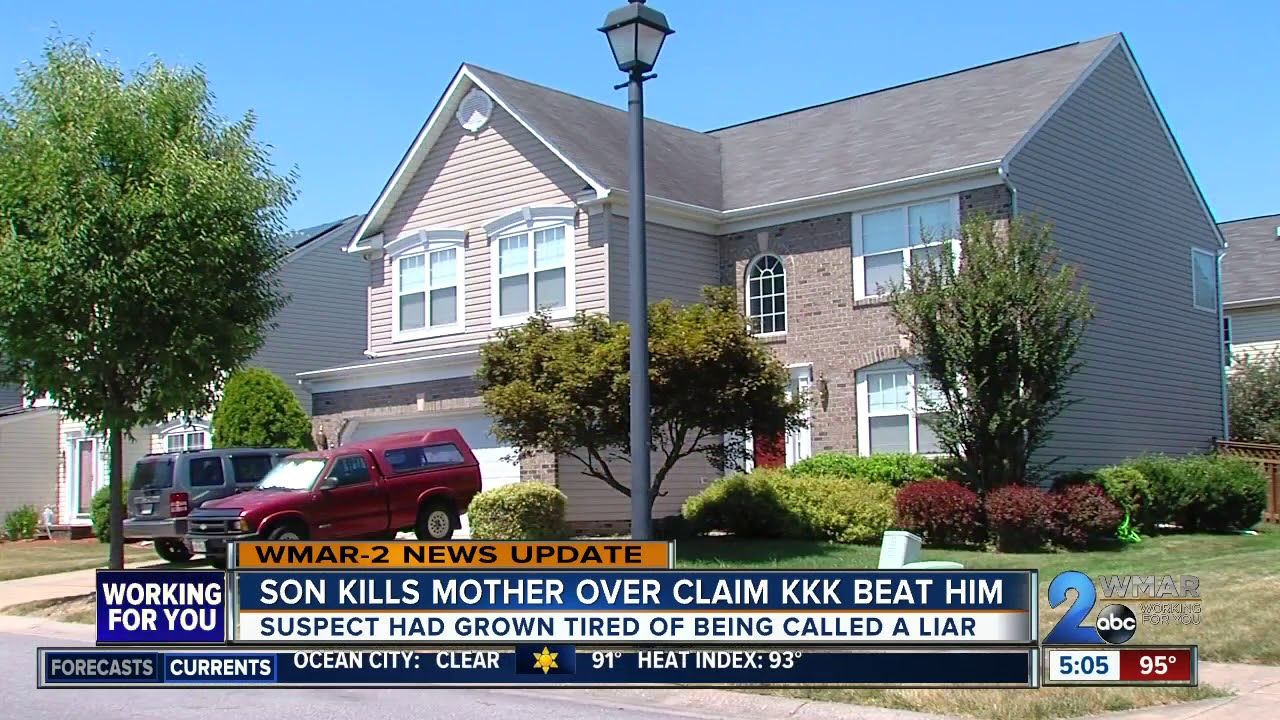 Son Kills Mother Over Claim KKK Beat Him