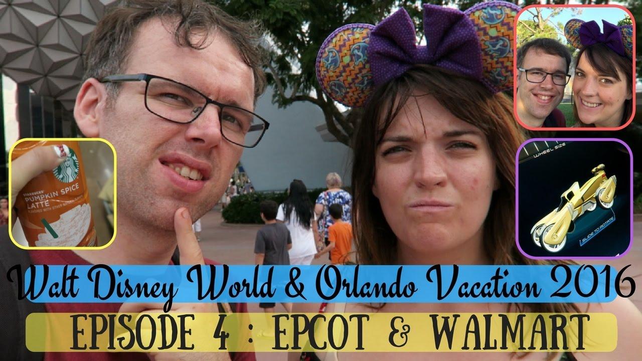 BRAND NEW | WALT DISNEY WORLD & ORLANDO VACATION VLOG 2016 | EPCOT &  WALMART | KRISPYSMORE