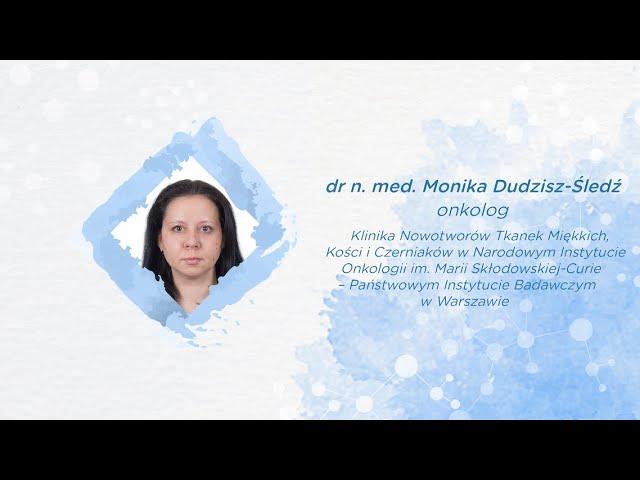 """""""Rak z komórek Merkla, czy musi wykluczać?""""   dr Monika Dudzisz-Śledź"""