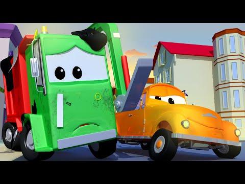 Gary das Müllauto 3 - Tom der Abschleppwagen in Autopolis 🚗 Cartoons für Kinder