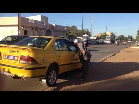 Taxi Ride in Thies, Senegal