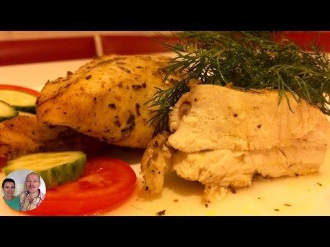 Как приготовить куриную грудку в рукаве