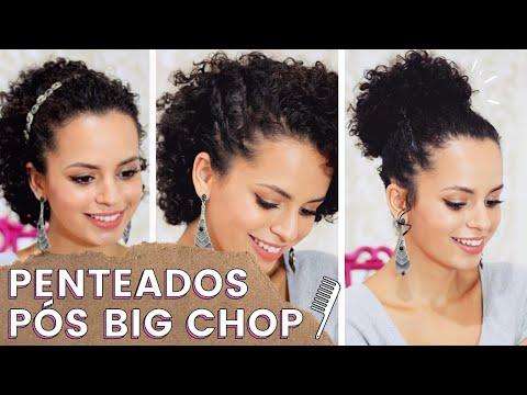 3 Penteados Pós Big Chop Cacheado Curto Por Nanda Soares Guarda Roupa De Menina