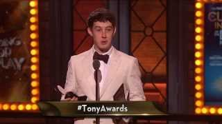 Acceptance Speech: Alex Sharp (2015)