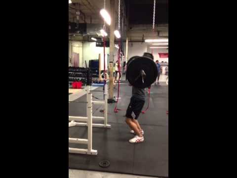 Olympic Weightlifting Progress - Power cleans Jan 30, 2013