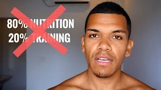 The REAL Way To Weight Loss | The 80% Nutrition 20% Training Lie