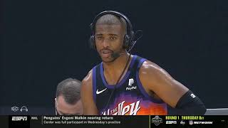 Chris Paul Postgame Interview Phoenix Suns win vs Paul George Clippers